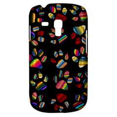 Colorful Paw Prints Pattern Background Reinvigorated Galaxy S3 Mini