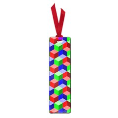 Seamless Rgb Isometric Cubes Pattern Small Book Marks