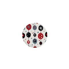 Retro Ornament Pattern 1  Mini Buttons