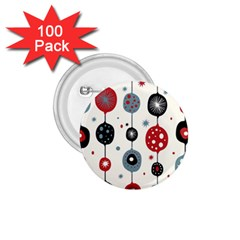Retro Ornament Pattern 1 75  Buttons (100 Pack)