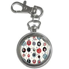 Retro Ornament Pattern Key Chain Watches