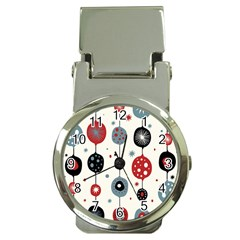 Retro Ornament Pattern Money Clip Watches