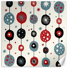 Retro Ornament Pattern Canvas 12  X 12