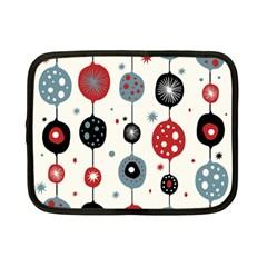 Retro Ornament Pattern Netbook Case (Small)