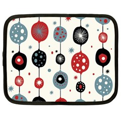 Retro Ornament Pattern Netbook Case (large)