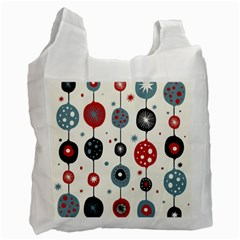 Retro Ornament Pattern Recycle Bag (two Side)