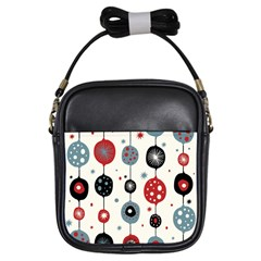Retro Ornament Pattern Girls Sling Bags