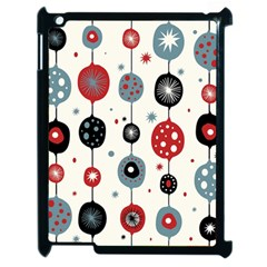 Retro Ornament Pattern Apple iPad 2 Case (Black)