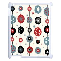 Retro Ornament Pattern Apple iPad 2 Case (White)