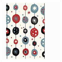 Retro Ornament Pattern Small Garden Flag (two Sides)