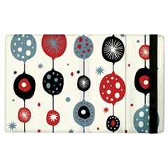 Retro Ornament Pattern Apple Ipad 2 Flip Case