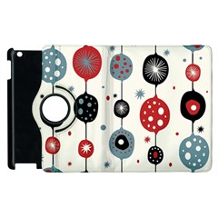 Retro Ornament Pattern Apple Ipad 3/4 Flip 360 Case