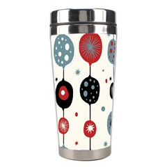 Retro Ornament Pattern Stainless Steel Travel Tumblers