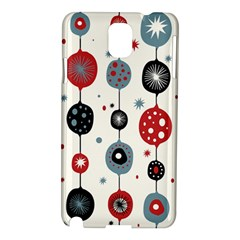 Retro Ornament Pattern Samsung Galaxy Note 3 N9005 Hardshell Case