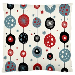 Retro Ornament Pattern Large Flano Cushion Case (two Sides)