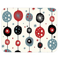Retro Ornament Pattern Double Sided Flano Blanket (medium)