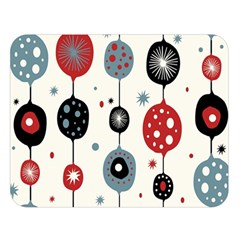 Retro Ornament Pattern Double Sided Flano Blanket (large)