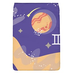 Planet Galaxy Space Star Polka Meteor Moon Blue Sky Circle Flap Covers (S)