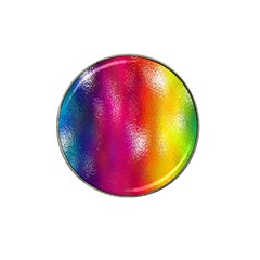 Color Glass Rainbow Green Yellow Gold Pink Purple Red Blue Hat Clip Ball Marker