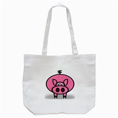 Pork Pig Pink Animals Tote Bag (White)