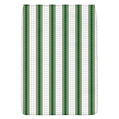 Plaid Line Green Line Vertical Flap Covers (S)