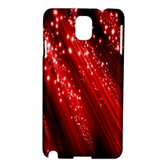 Red Space Line Light Black Polka Samsung Galaxy Note 3 N9005 Hardshell Case