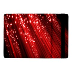 Red Space Line Light Black Polka Samsung Galaxy Tab Pro 10 1  Flip Case