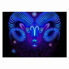 Sign Aries Zodiac Large Glasses Cloth (2-Side)