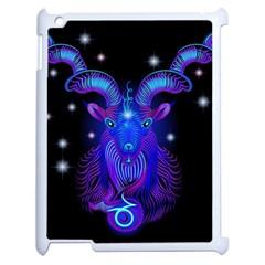Sign Capricorn Zodiac Apple Ipad 2 Case (white)