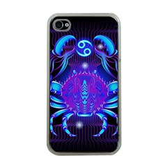 Sign Cancer Zodiac Apple iPhone 4 Case (Clear)