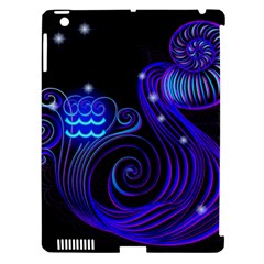 Sign Aquarius Zodiac Apple iPad 3/4 Hardshell Case (Compatible with Smart Cover)