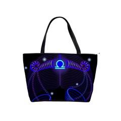 Sign Libra Zodiac Shoulder Handbags