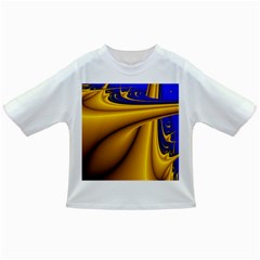 Waves Wave Chevron Gold Blue Paint Space Sky Infant/Toddler T-Shirts