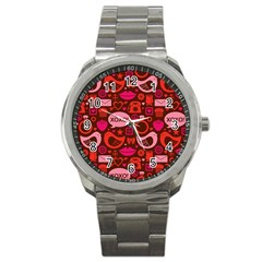 Xoxo! Sport Metal Watch