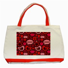 Xoxo! Classic Tote Bag (red)