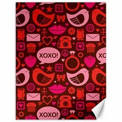 Xoxo! Canvas 12  X 16
