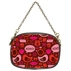 Xoxo! Chain Purses (two Sides)
