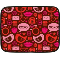 Xoxo! Double Sided Fleece Blanket (mini)