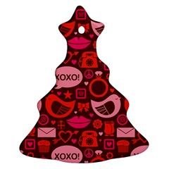 Xoxo! Christmas Tree Ornament (two Sides)