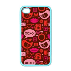 Xoxo! Apple Iphone 4 Case (color)