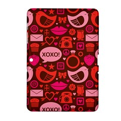 Xoxo! Samsung Galaxy Tab 2 (10 1 ) P5100 Hardshell Case