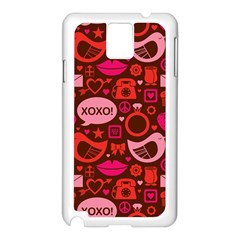 Xoxo! Samsung Galaxy Note 3 N9005 Case (white)