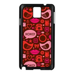 Xoxo! Samsung Galaxy Note 3 N9005 Case (black)