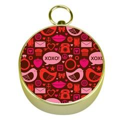 Xoxo! Gold Compasses