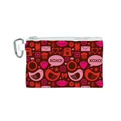 Xoxo! Canvas Cosmetic Bag (s)