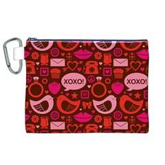 Xoxo! Canvas Cosmetic Bag (xl)