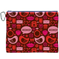 Xoxo! Canvas Cosmetic Bag (xxxl)