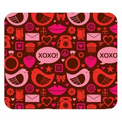 Xoxo! Double Sided Flano Blanket (Small)