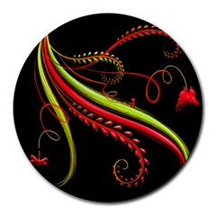 Cool Pattern Designs Round Mousepads