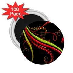Cool Pattern Designs 2.25  Magnets (100 pack)
